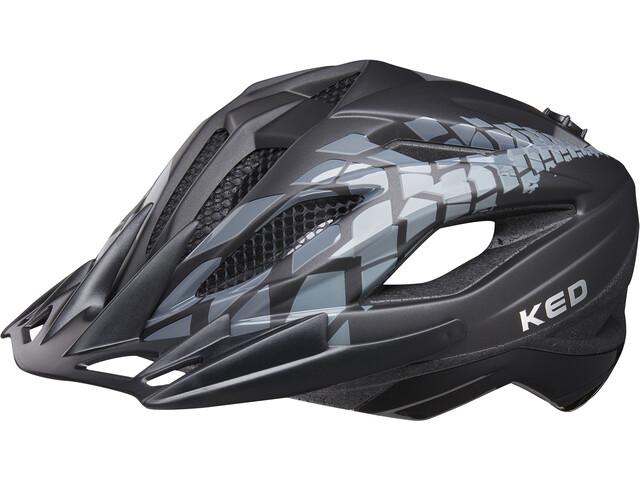 KED Street Jr. Pro Helmet Kinder black anthracite